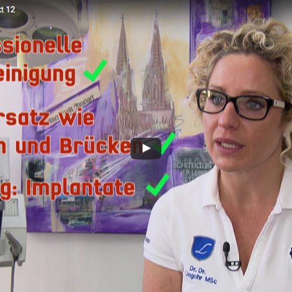Praxis Dr. Lingohr bei RTL Punkt 12